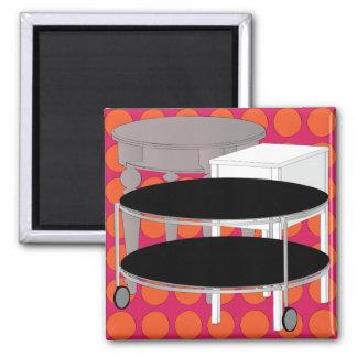 Ikea Furniture Tables Orange Magnet
