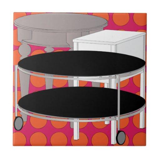 Ikea Furniture Tables Orange Tile  Zazzle -> Ikea Wandregal Orange
