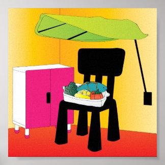 Ikea Kids Salmon Poster