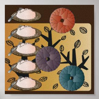 Ikea Kitchen Cakes Poster