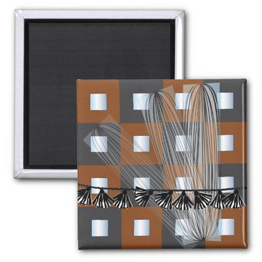 Ikea Mirrors Squares Magnet