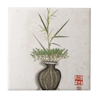 ikebana 10 by tony fernandes ceramic tile
