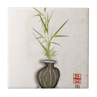 ikebana 11 by tony fernandes tile