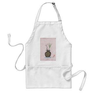 Ikebana 2 by tony fernandes adult apron