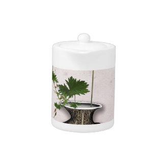 Ikebana 5 by tony fernandes teapot