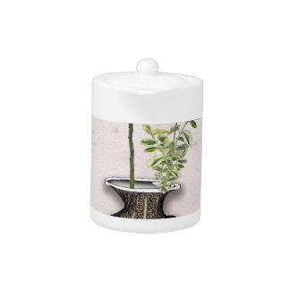 Ikebana 6 by tony fernandes teapot