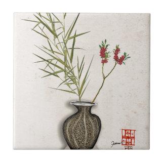 ikebana 8 by tony fernandes ceramic tile