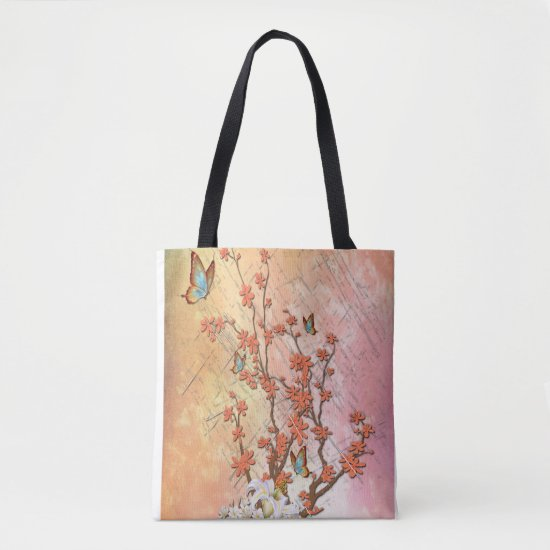 Ikebana display tote bag