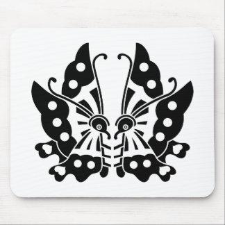Ikeda facing butterflies mouse pad