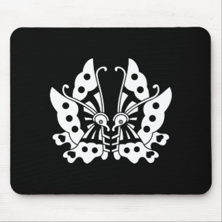 Ikeda opposite it is, the butterfly mouse pad