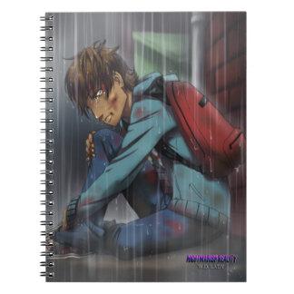 Ikeda Postcard (From Nightmarish Reality) Notebook