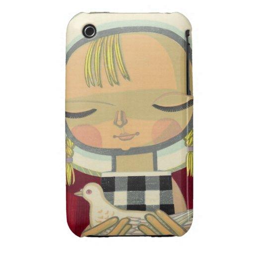 Ikeda Shuzo, bebé se zambulló ukiyo-e oriental iPhone 3 Protector