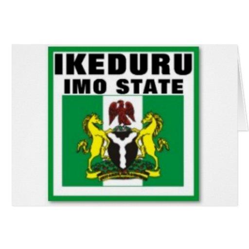 Ikeduru, OMI indica la camiseta de Nigeria y el et Felicitación
