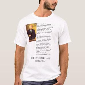 Ike's Farewell Address T-Shirt