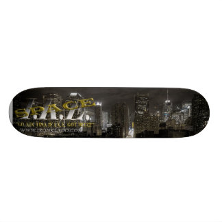 IKESpace Night City Custom Skateboard