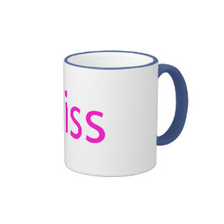 iKiss Taza A Dos Colores