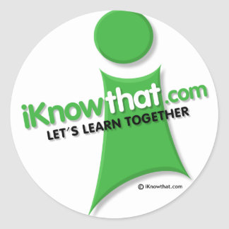 iKnowthat.com Logo Stickers