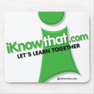 iKnowthat Logo Mousepad