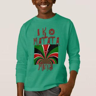 Iko Matata Mingi Keep it Kenyan Hakuna Matata T-Shirt