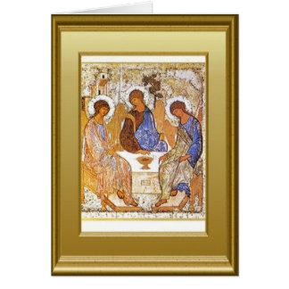 Ikon de Cristo Tarjeta De Felicitación