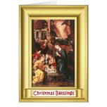 Ikon de la natividad tarjetas