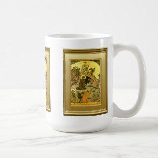 Ikon de la natividad taza