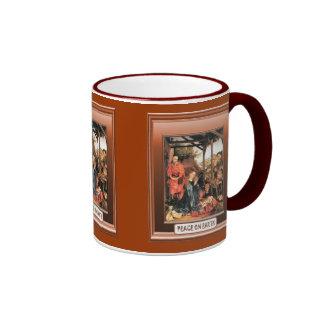 Ikon de la natividad taza de dos colores