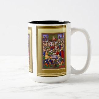 Ikon de la natividad taza de dos tonos
