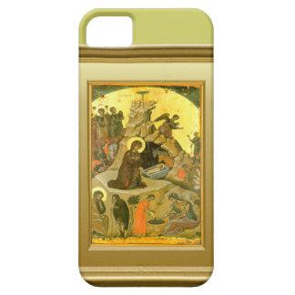 Ikon del Virgen María y del niño Jesús Funda Para iPhone 5 Barely There