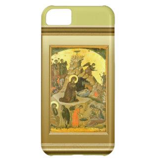 Ikon del Virgen María y del niño Jesús Funda Para iPhone 5C