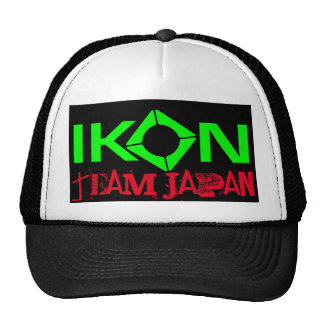 IKON Kiteboarding Team JAPAN CAP Trucker Hat