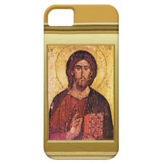 Ikon of asaint with a Gospel book iPhone SE/5/5s Case