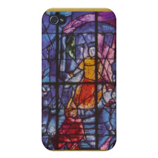 Ikon of stained glass cover for iPhone 4