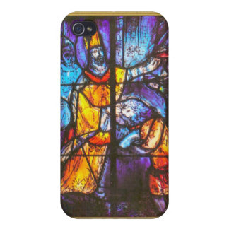 Ikon of stained glass window iPhone 4 cover
