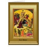 Ikon of the Nativity Greeting Card