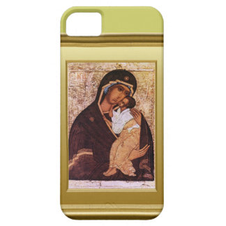 Ikon of the Virgin Mary and Jesus iPhone SE/5/5s Case