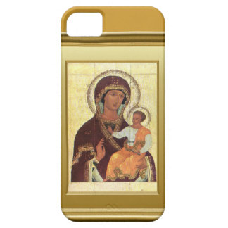 Ikon of the Virgin Mary and the child Jesus iPhone SE/5/5s Case
