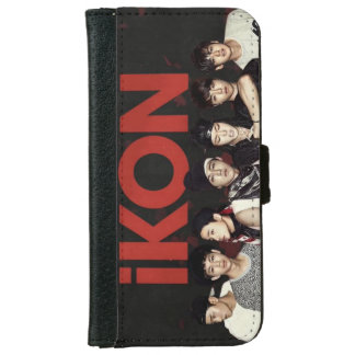 iKON Wallet Phone Case For iPhone 6/6s