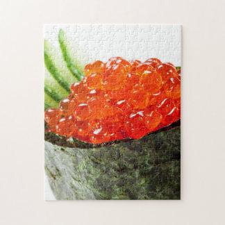 Ikura (Salmon Roe) Gunkan Maki Sushi Jigsaw Puzzle