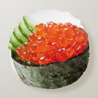 Ikura (Salmon Roe) Gunkan Maki Sushi Round Pillow
