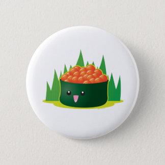Ikura Sushi Pinback Button