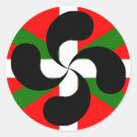 IKURRINA-LAUBURU CLASSIC ROUND STICKER