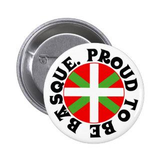 Ikurriña, Proud to be Basque Pinback Button