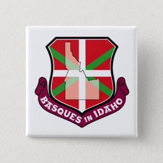 Ikurrina shield: Basques in Idaho, Button
