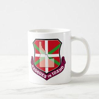Ikurrina shield: Basques in Idaho, Coffee Mug