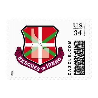 Ikurrina shield: Basques in Idaho, Stamp