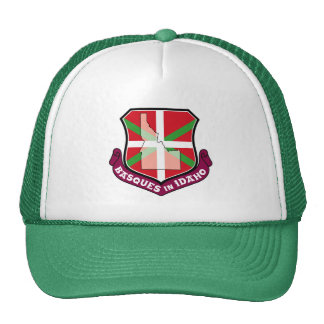 Ikurrina shield: Basques in Idaho, Trucker Hat