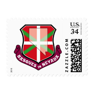 Ikurrina shield: Basques in Nevada, Postage
