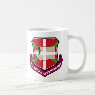 Ikurrina shield: Basques in Washington, Coffee Mug