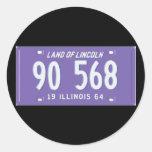 IL64 CLASSIC ROUND STICKER